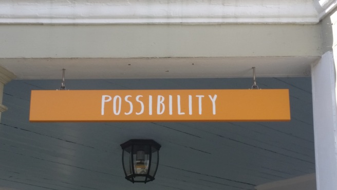 Sign, possibility